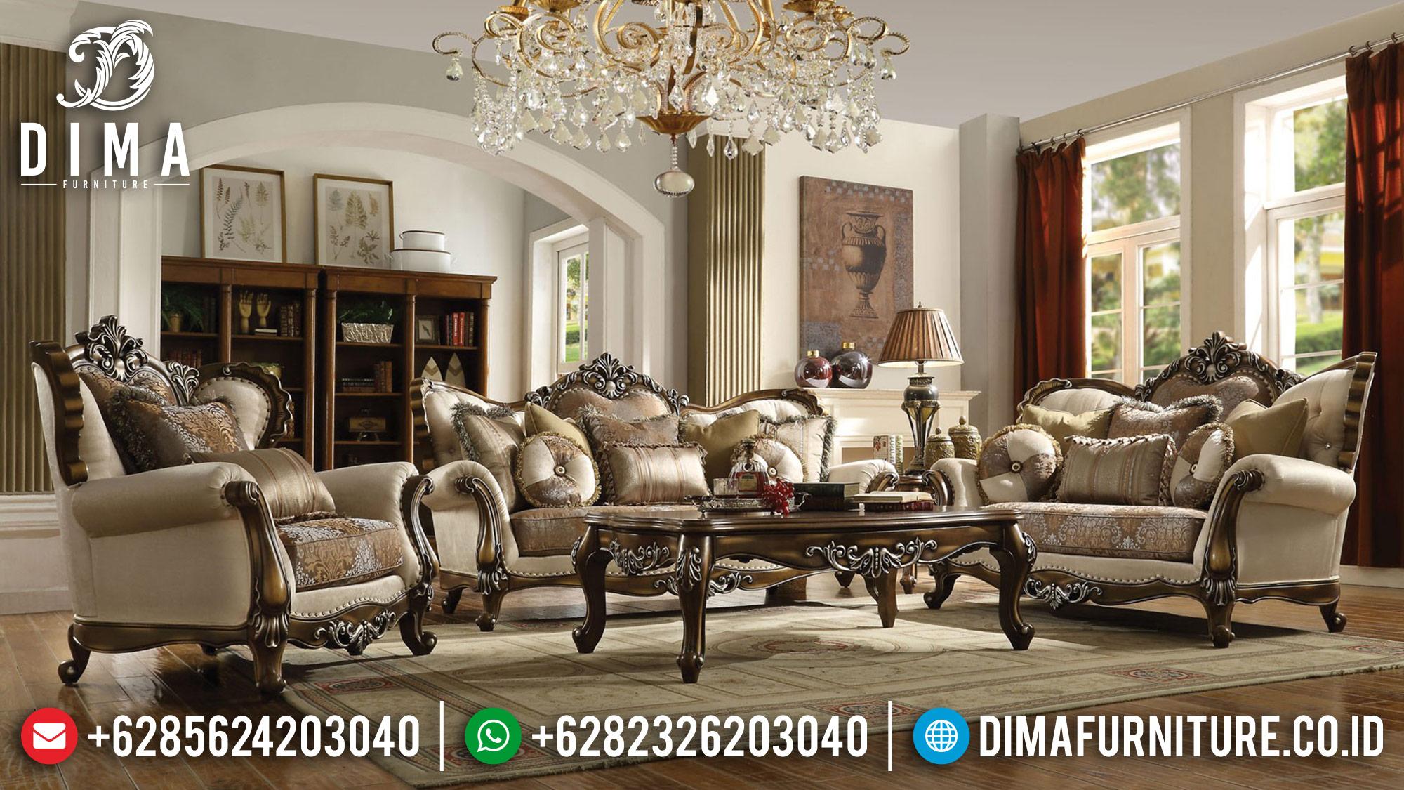 Jual Set Sofa Tamu Mewah Jepara Latisha BT-0056