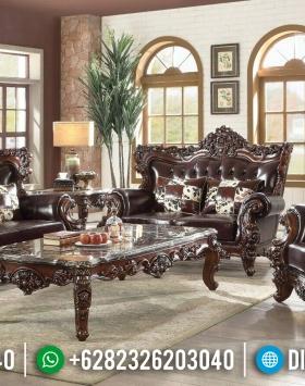 Ukiran Klasik Sofa Tamu Jepara Mewah Jati BT-0071