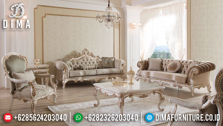 Set 3 3 1 Sofa Tamu Jepara Ukir Mewah Duco BT-0096