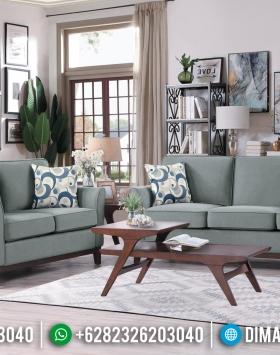 Set Sofa Tamu Jepara Minimalis Fabric Gray BT-0092