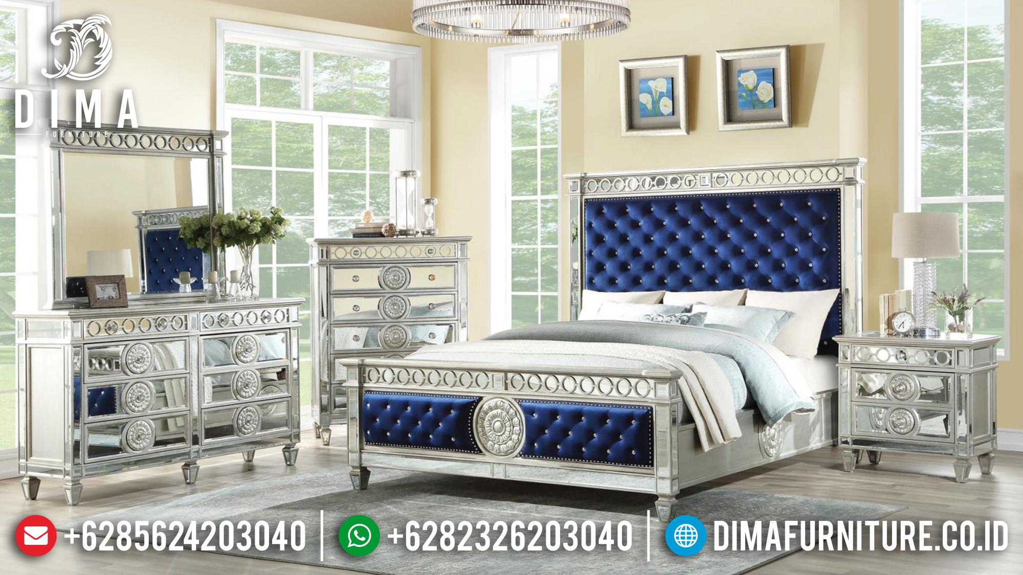 Set Tempat Tidur Jepara Minimalis Mewah Mirror BT-0153