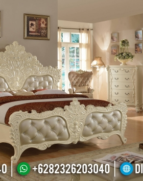 Jual Tempat Tidur Mewah Ukiran Jepara Novara Silver BT-0185