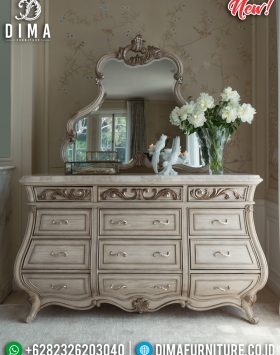 Meja Console Luxury Classic Golden Leaf Combination BT-0270