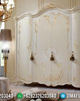 New Design Luxury Lemari Pakaian Mewah Duco Kombinasi Golden Paint BT-0284