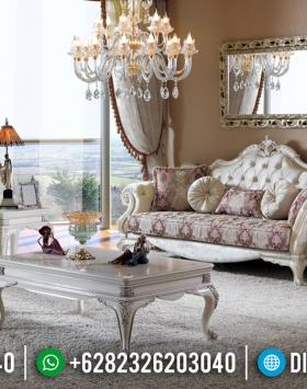 New Model Sofa Tamu Mewah Alexa Luxury Classic Jepara BT-0281