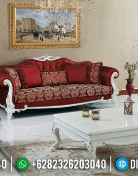 Sofa Tamu Mewah Putih Duco Desain 2020 BT-0280