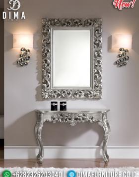 Harga Meja Konsol Mewah Dan Mirror Silver Diamond BT-0313