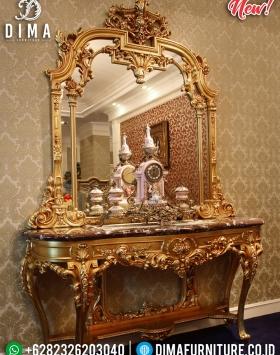 Meja Konsol Dan Cermin Mewah Produk Terlaris Mebel Jepara BT-0330