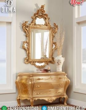 New Meja Konsol Mewah Gold Duco Glossy Classy BT-0328