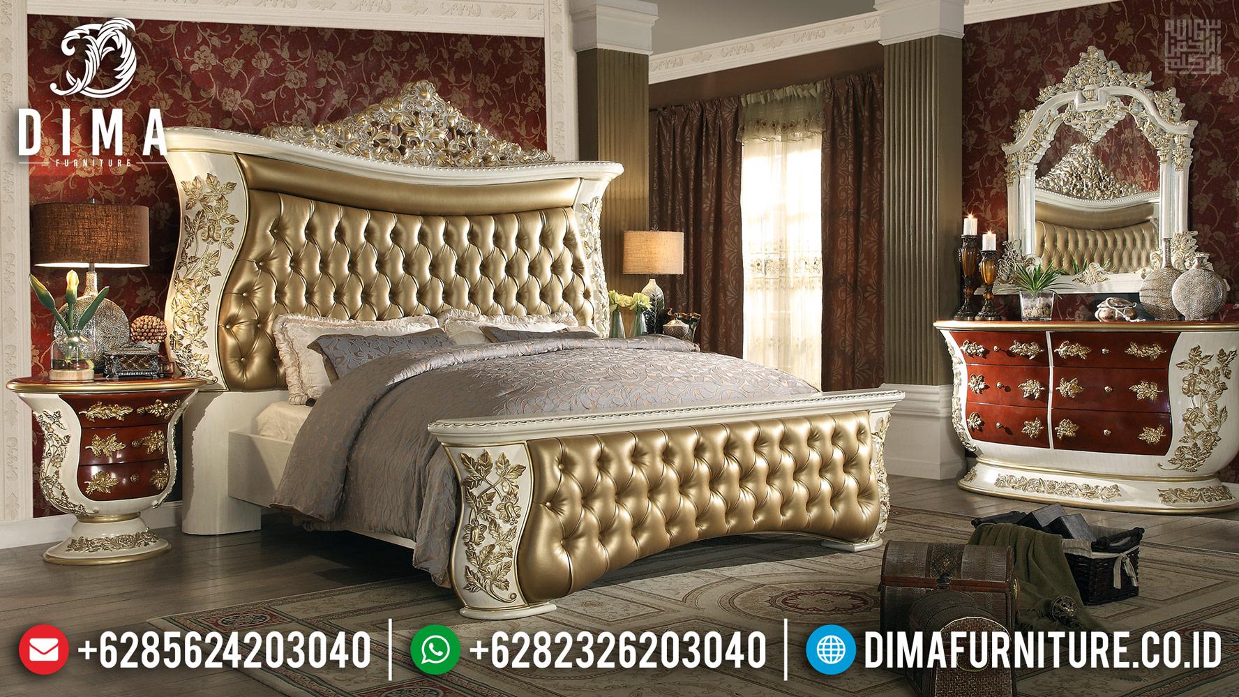 Discount Item!!! Tempat Tidur Mewah Luxury Carving Made In Jepara Asli BT-0384