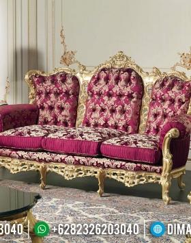 Sofa Tamu Mewah Kekinian Furniture Jepara Terlaris BT-0407