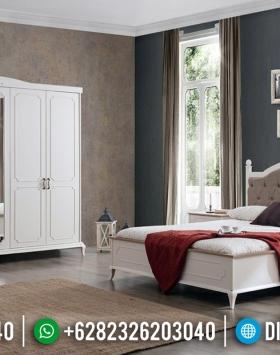 Big Sale Tempat Tidur Minimalis Modern Putih Duco Furniture Jepara Terbaru BT-0525