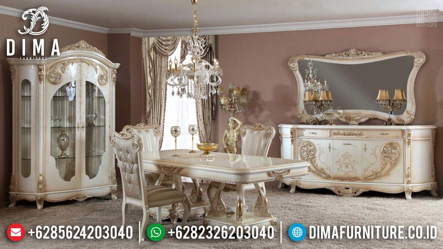 Design Meja Makan Mewah Royals Classic Luxury Carving Jepara BT-0496