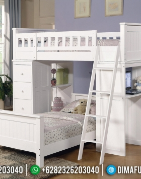 Dipan Tingkat Anak Charlotte Furniture Jepara Minimalis BT-0543