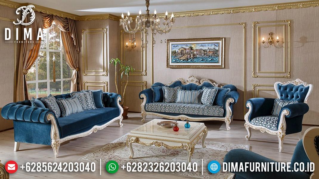 Elegant Style Sofa Tamu Mewah Jepara Renaissance Luxury Classic Carving BT-0574