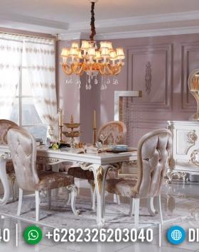 Harga Meja Makan Jepara Ukiran Mewah New Imperial Luxury Design BT-0486