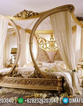 Jual Set Kamar Mewah Ukiran Klasik Jepara Princes Luxury Design BT-0538