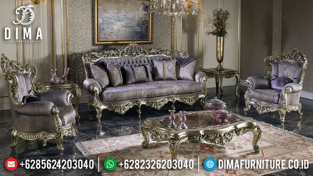 Jual Sofa Tamu Mewah Ukiran Antique Design Luxury Classic Jepara BT-0568