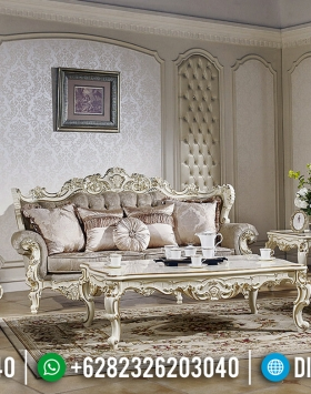New Luxury Sofa Tamu Mewah Venezia Ukiran Classic Jepara BT-0452