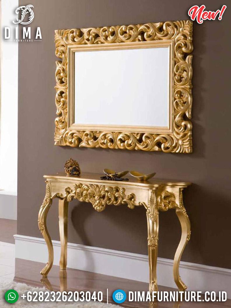 Set Cermin Hias Ukiran Meja Konsol Mewah Luxury Classic New 2020 BT-0477