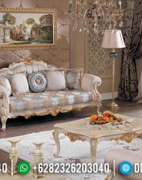 Set Sofa Tamu Mewah 3 1 1 Meja Ukiran Classic Luxury Jepara BT-0513