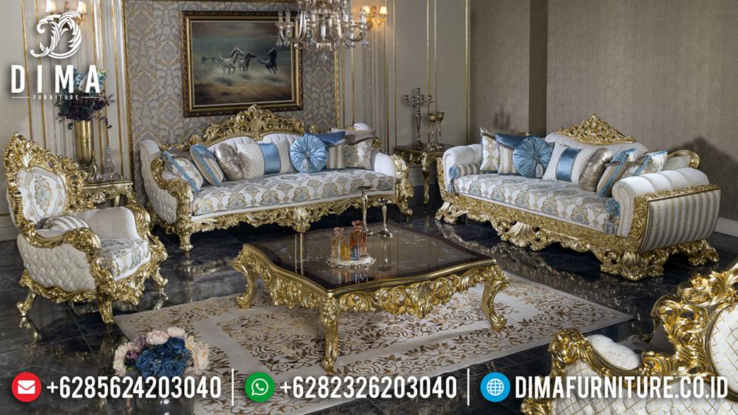 Sofa Tamu Mewah Golden Relief Luxury Classic Jepara BT-0569