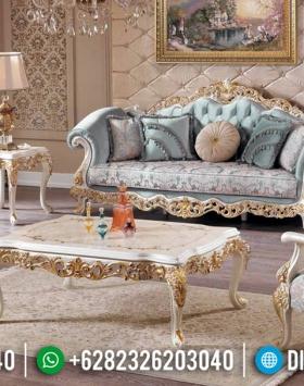 Sofa Tamu Mewah Raja Luxury Classic Ukiran Jepara Terbaru BT-0512