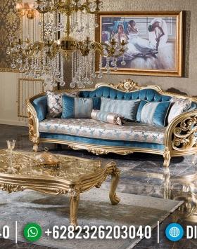 Desain Ruang Tamu Sofa Tamu Mewah Ukiran Jepara Luxury Classic BT-0595