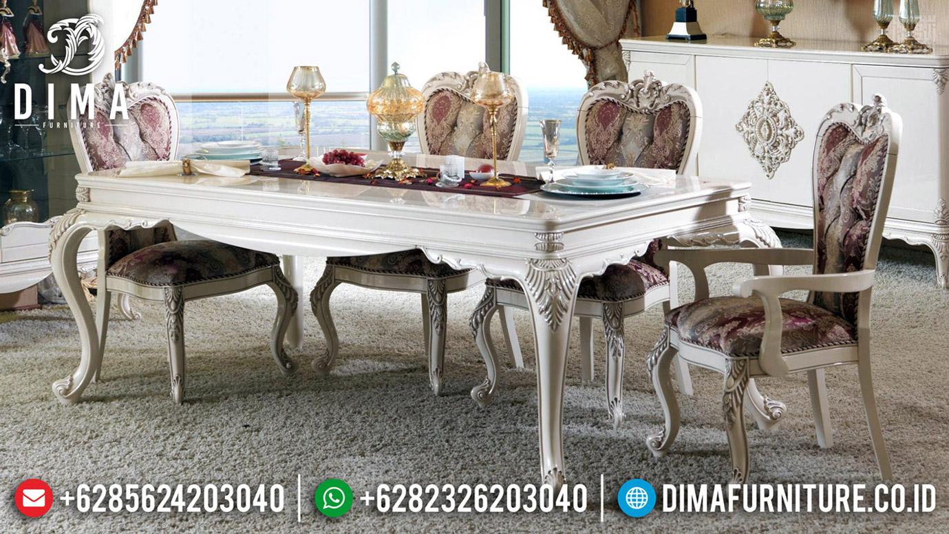 Harga Meja Makan Ukir Mewah Jepara Luxury Classic Best Sale BT-0588