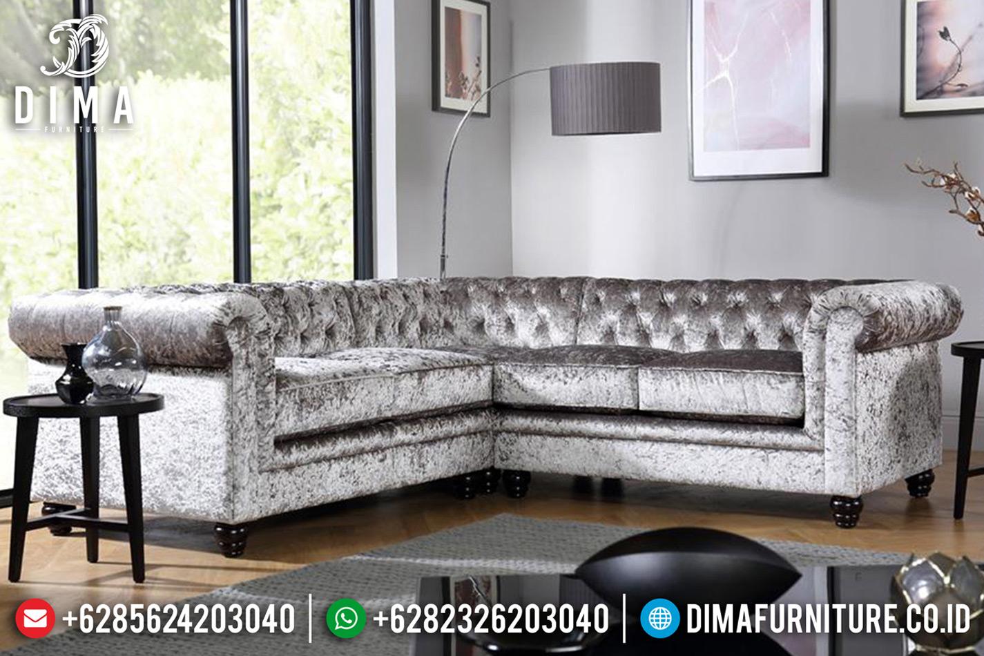 New Model Set Sofa Tamu Modern Skandinavian Jati Natural Harga Terjangkau BT-0620