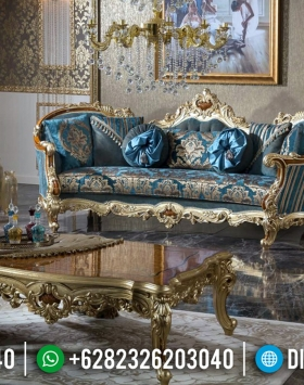 Jual Sofa Tamu Mewah Golden Shine Relief Solid Wood New Luxury Style BT-0657
