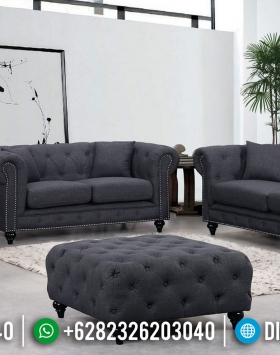 New Sofa Tamu Minimalis Chesterfield Discount Price Elegant Stylis BT-0662
