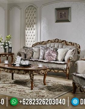Sofa Tamu Ukiran Mewah Luxury Type Ukiran Khas Jepara Natural Klasik BT-0650