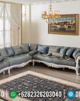 Jual Model Terbaru Sofa Tamu Jepara Mewah Ukir Klasik Duco Putih BT-0007