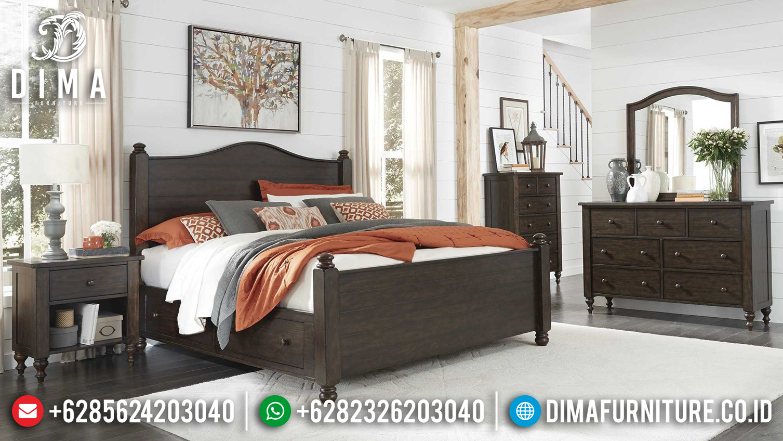 Dipan Jati Tempat Tidur Minimalis Jepara Terbaru BT-0084