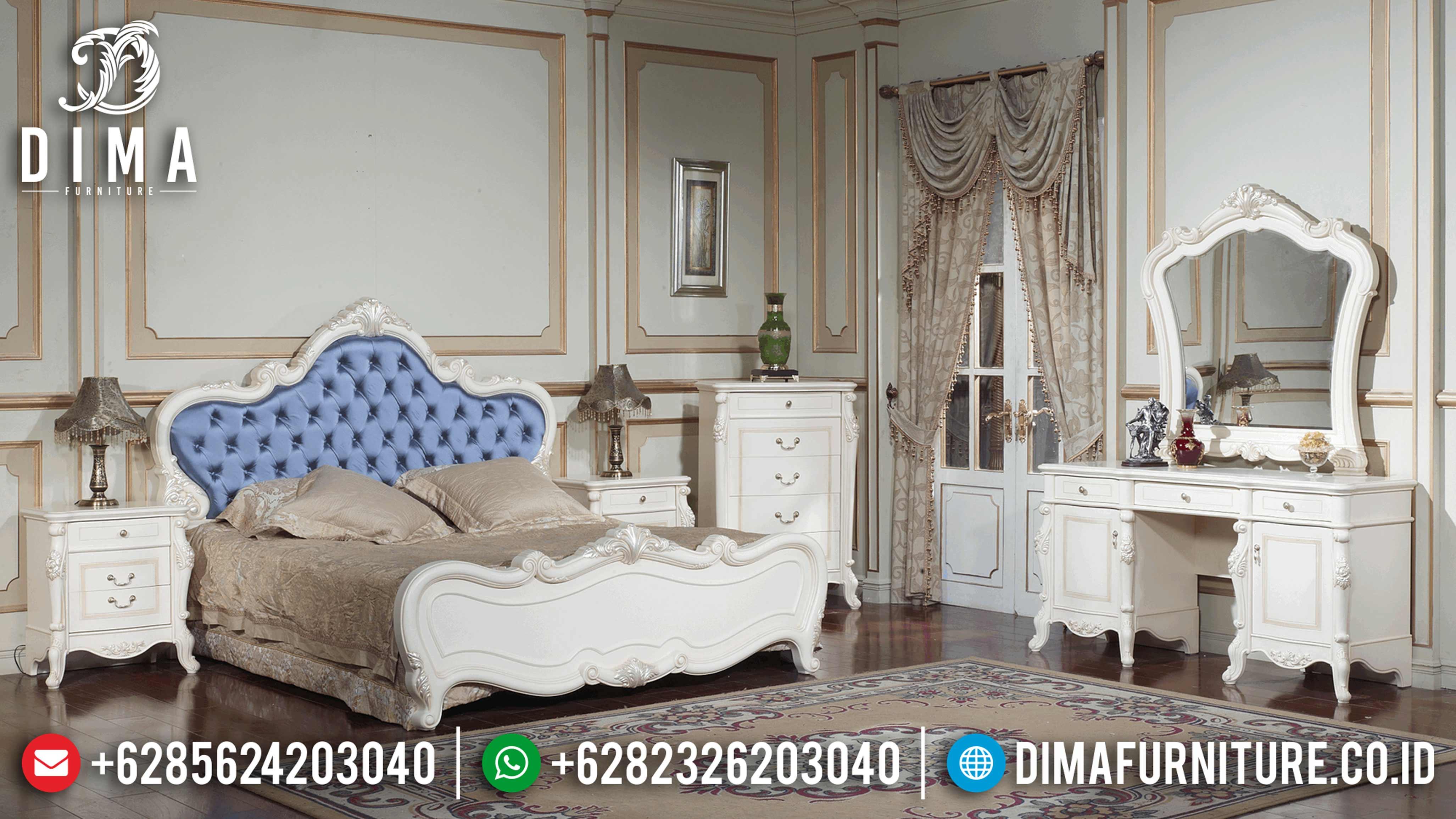 Harga Dipan Terbaru, Tempat Tidur Jepara Mewah, Kamar Set Mewah BT-0023