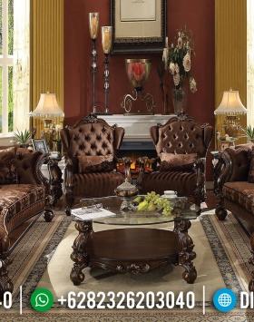 Kursi Set Sofa Tamu Jepara Mewah Ukiran Klasik BT-0070