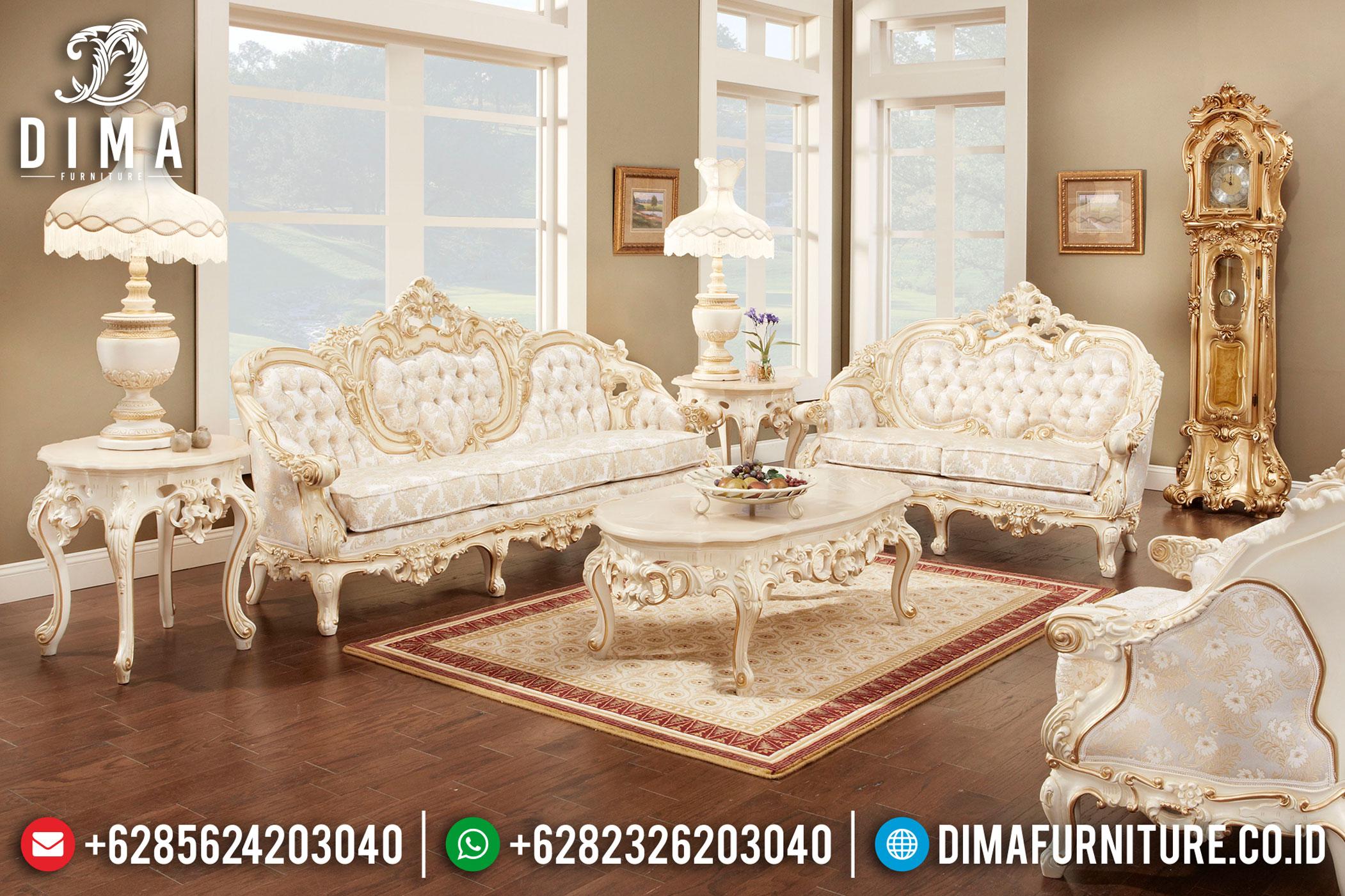 Kursi Sofa Tamu Jepara Mewah Set 3 2 1 Duco BT-0037