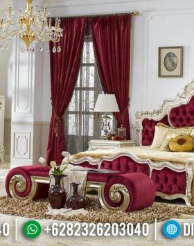 Ranjang Tempat Tidur Mewah Ukiran Jepara Klasik BT-0083
