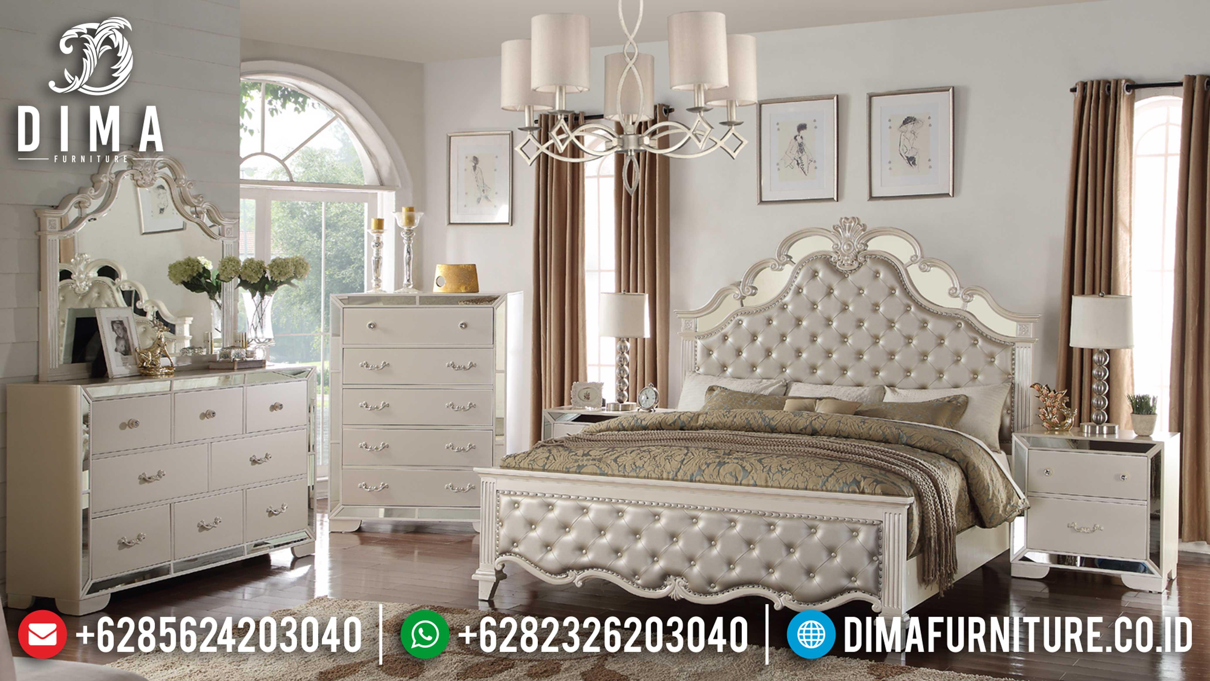 Seri Model Sonia Set Kamar Tempat Tidur Jepara Mewah Minimalis BT-0024