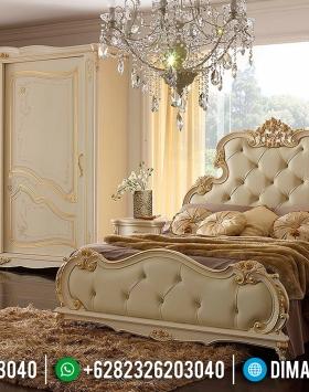 Set Tempat Tidur Jepara Mewah Klasik Duco BT-0044