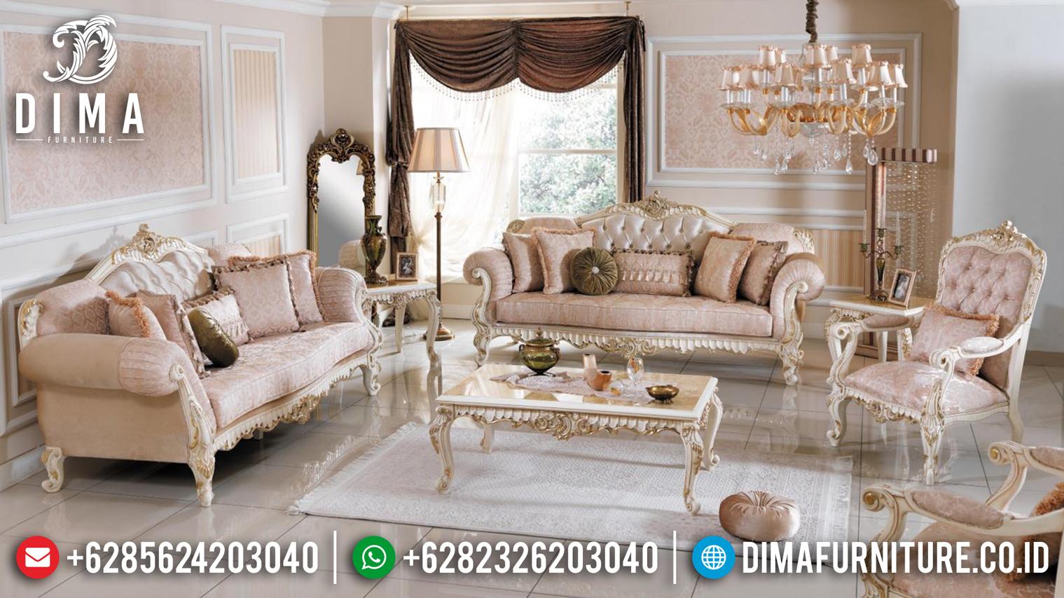 Beli Sofa Tamu Jepara Ukiran Klasik Mewah Turkey BT-0097