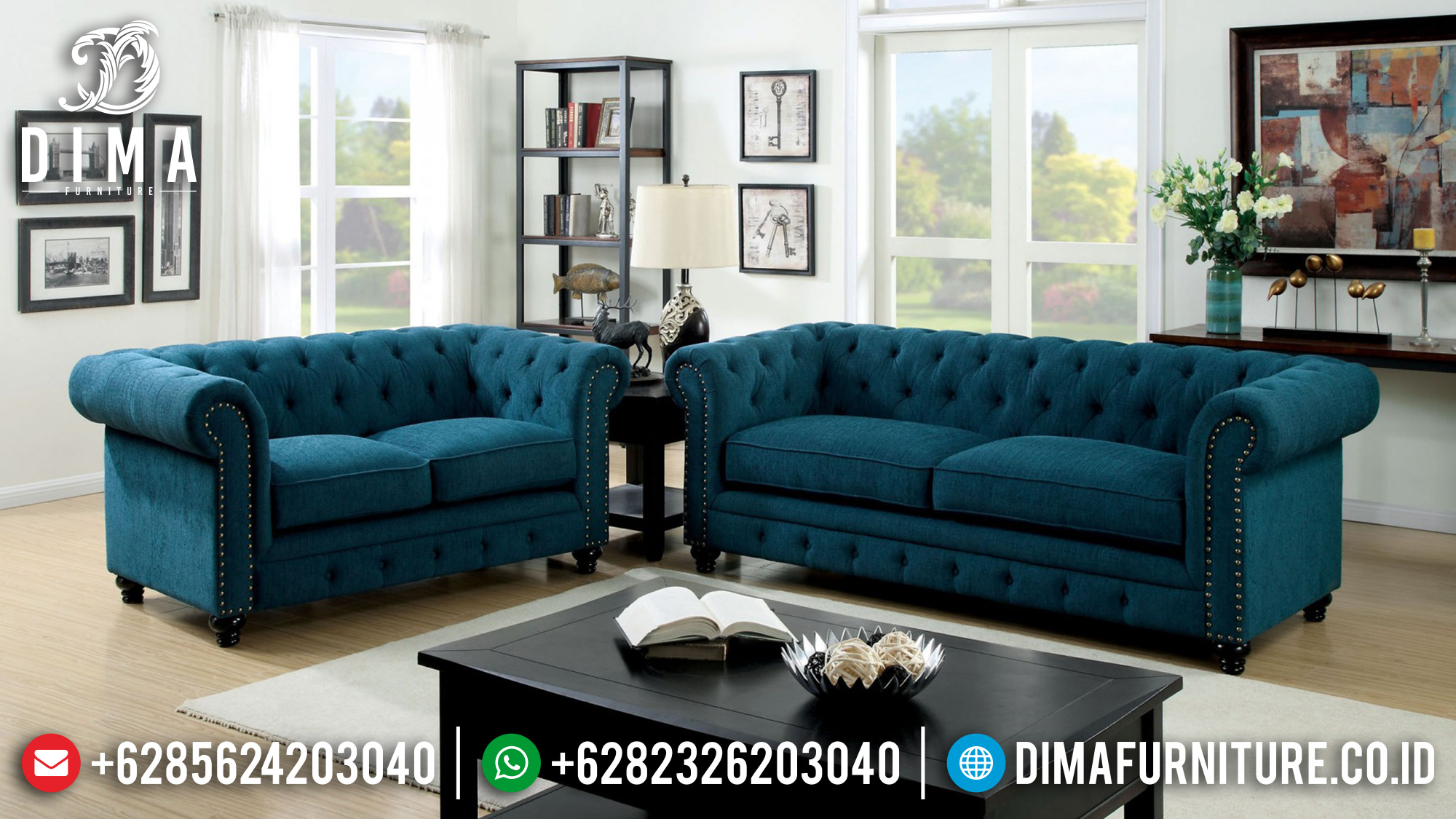 Jual Set Sofa Tamu Jepara Minimalis Mewah 2019 BT-0106