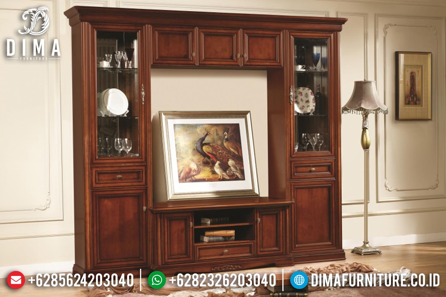 Lemari Hias Bufet TV Jati Jepara Minimalis BT-0113