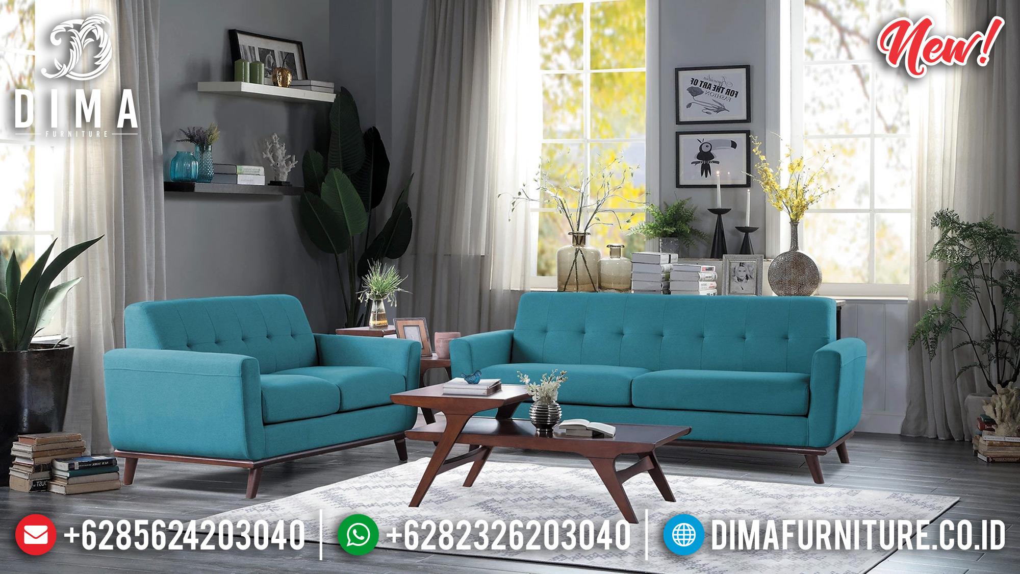 Jual Sofa Tamu Jepara Set 3 2 1 Turquoise BT-0182