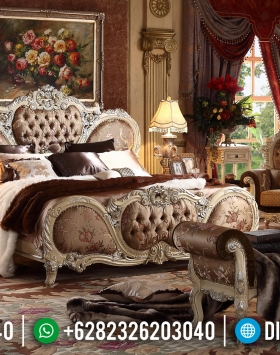 Set Tempat Tidur Mewah Elizabethan BT-0176