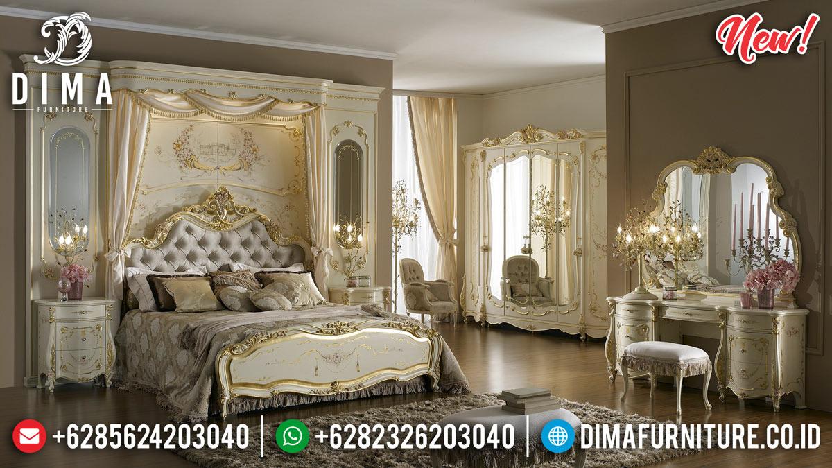 Desain Eropa Tempat Tidur Mewah Majestic BT-0212