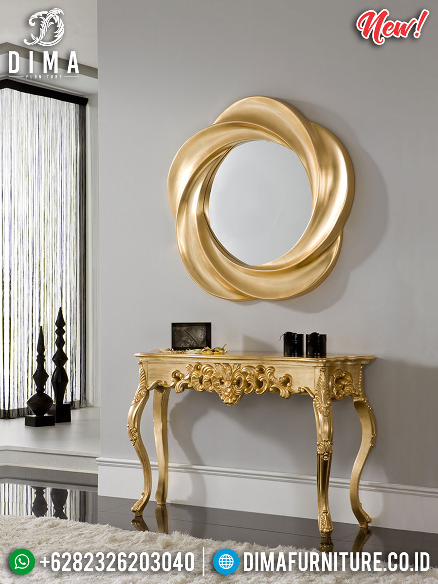 Edisi Tahun Baru Meja Konsol Mewah Luxury Golden Gloss BT-0266
