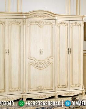 Furniture Jepara Lemari Pakaian Mewah 6 Pintu Duco Klasik BT-0289