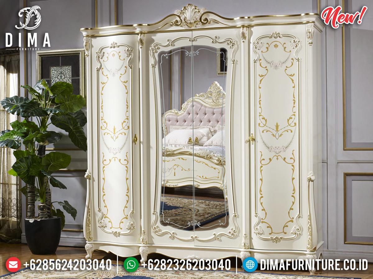 Harga Lemari Pakaian Cermin Mewah Model Modern Jepara BT-0287